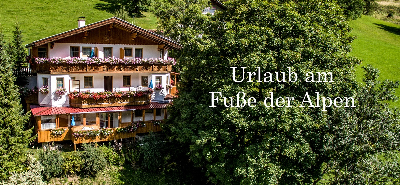 Urlaub am Fuße der Alpen